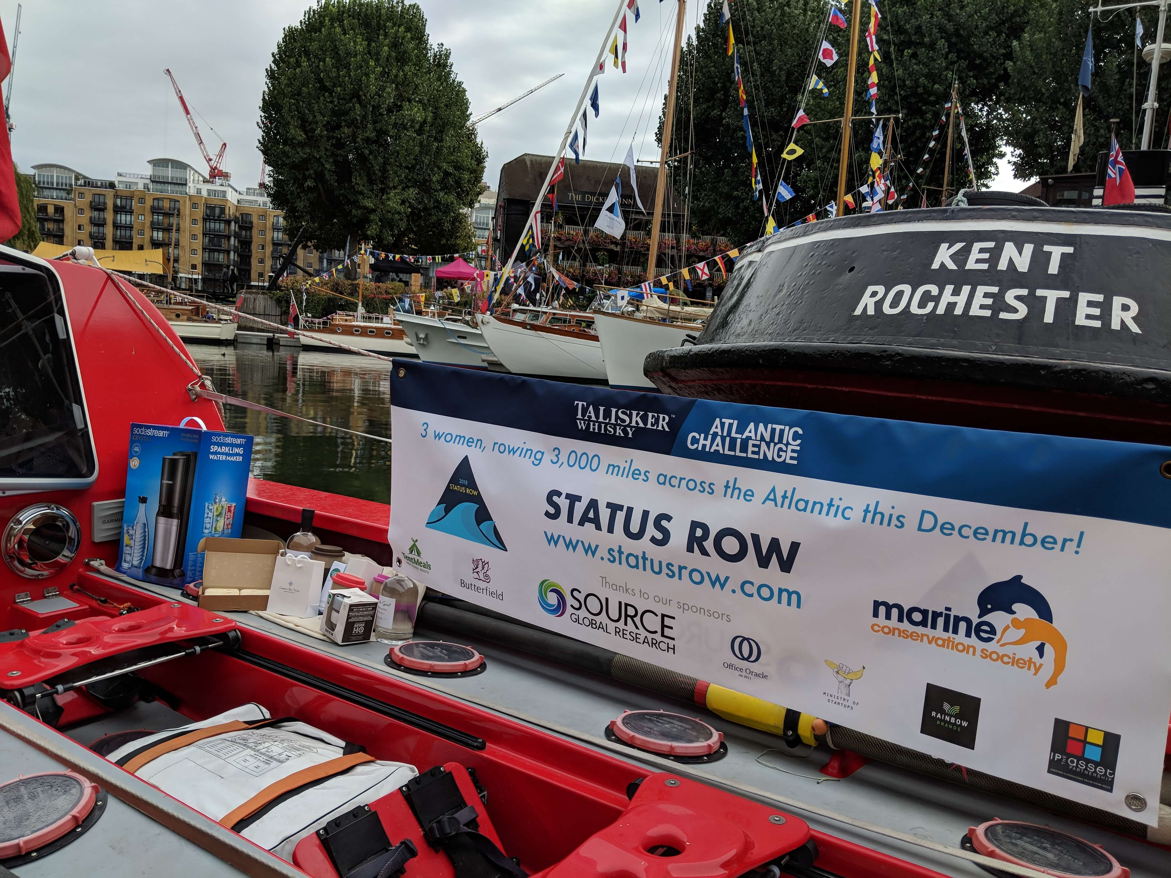Status Row at the Classic Boat Festival